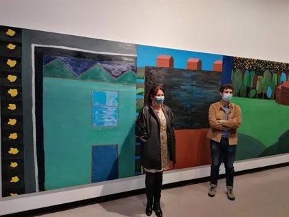 'Viaje, código y permuta', el tránsito de la pintura al vídeo de Javier Valverde, en la sala Santa Inés con Iniciarte