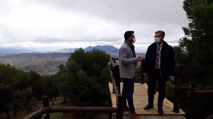 La Junta invierte más de 215.000 euros en infraestructuras y proyectos turísticos en Moclín (Granada)