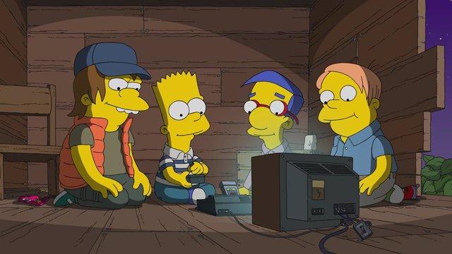 La nueva temporada de Los Simpson llega a Disney+