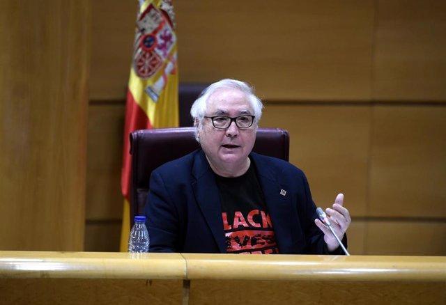 El ministro de Universidades, Manuel Castells, en una imagen de archivo.
