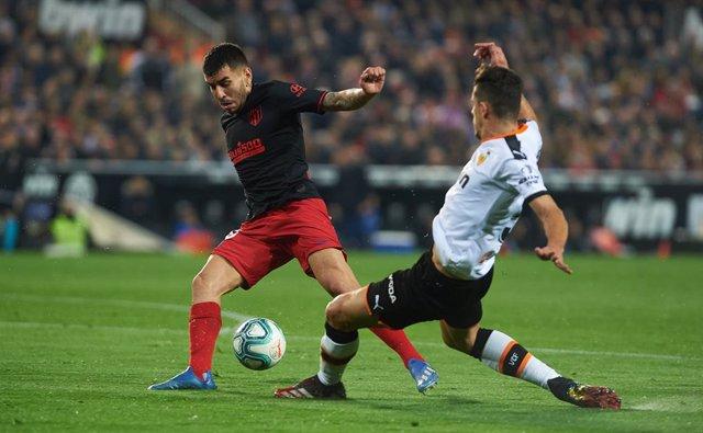 Correa (Atlético) y Gabriel (Valencia)