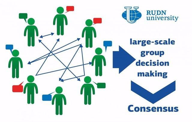 Un equipo de investigación de la Universidad RUDN desarrolló un algoritmo para ayudar a grandes grupos de personas a tomar decisiones óptimas en poco tiempo.