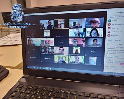 La Policía Nacional y la ONCE organizan una formación telemática sobre los riesgos en Internet