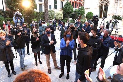 """El Govern destaca de Joan Mir su """"valor competitivo"""" y le agradece que dé a conocer el nombre de Baleares por el mundo"""