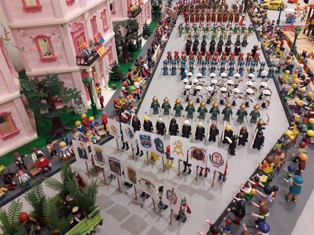 Los clicks de Playmobil toman San Vicente del Raspeig