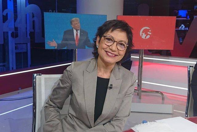 La periodista Anna Bosch