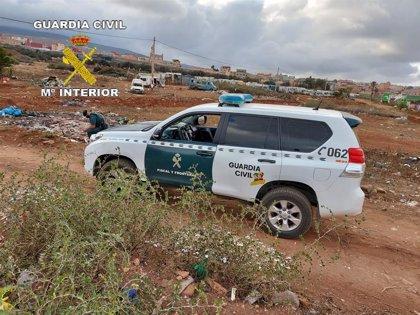 Detenidas siete personas en Melilla que recogían droga que lanzaban desde Marruecos a través de la doble valla
