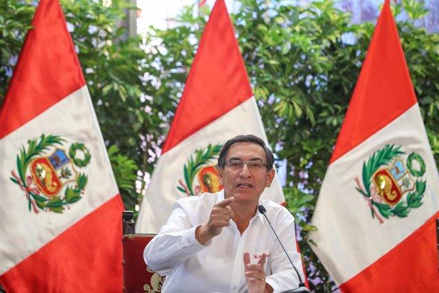 El expresidente de Perú, Martín Vizcarra