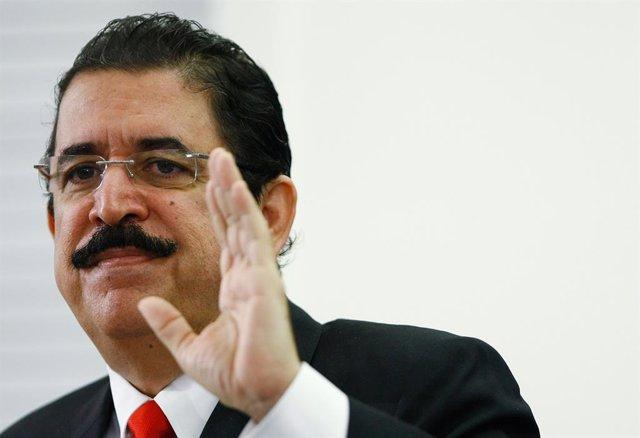 El expresidente de Honduras Jose Manuel Zelaya Rosales.
