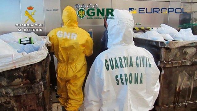 Investigadas 20 personas por gestión irregular de residuos biosanitarios de Covid-19