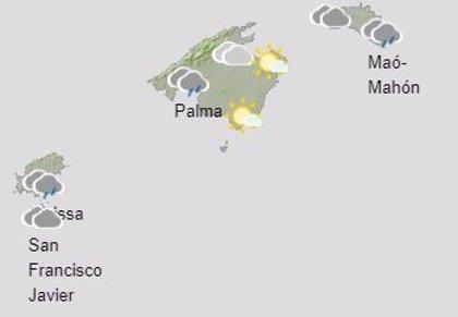 El tiempo, hoy sábado 28 de noviembre, en Baleares