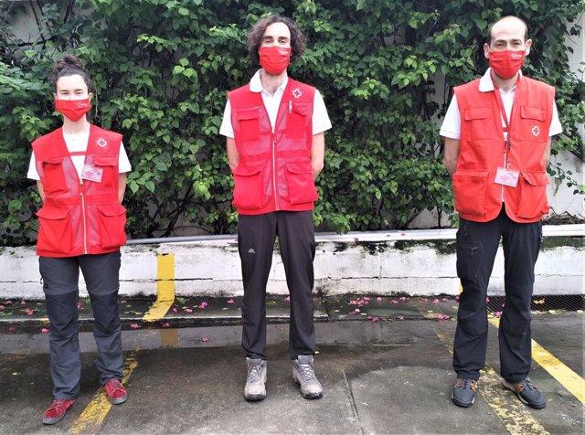Cooperantes De Navarra Participan En La Emergencia Huracanes Centroamérica Cruz Roja Navarra