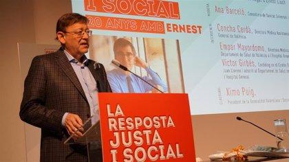 """El PSPV rinde homenaje a Ernest Lluch, """"representante de la defensa del diálogo y la razón frente a la barbarie"""""""