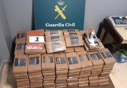 Intervenidos cerca de 270 kilos de cocaína ocultos en el interior de un contenedor en el puerto de Algeciras (Cádiz)