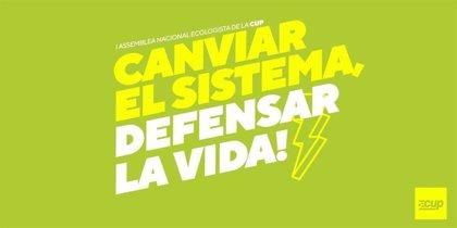 Más de 300 militantes participan en la primera Asamblea Nacional Ecologista de la CUP