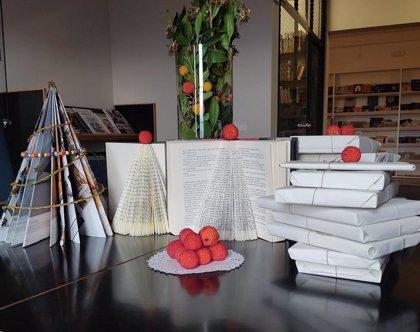 Las bibliotecas de Fraga reciclan libros por Navidad