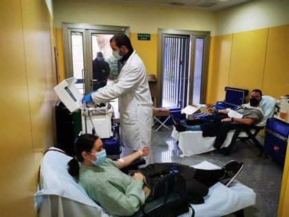 El hospital de Linares supera las 120 donaciones de plasma hiperinmune