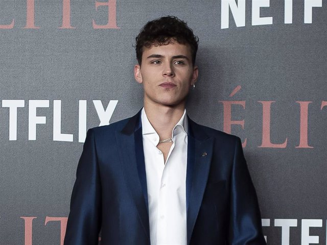 Aron Piper attends the World Premiere of Netflixs 'Elite' at Nubel on October 2, 2018 in Madrid, Spain.
