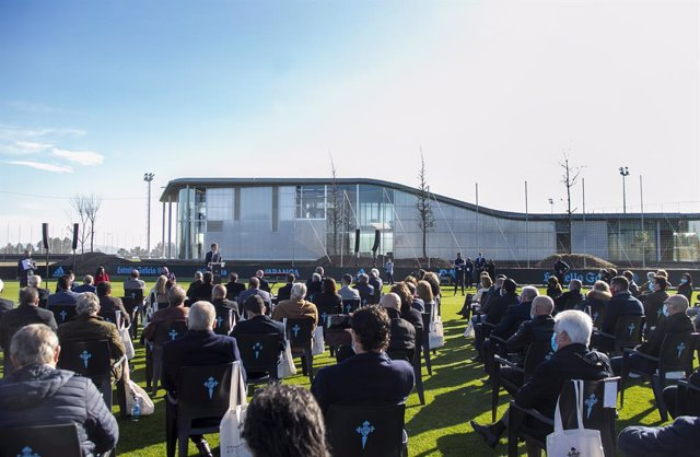 Inauguración de la nueva ciudad deportiva del Celta