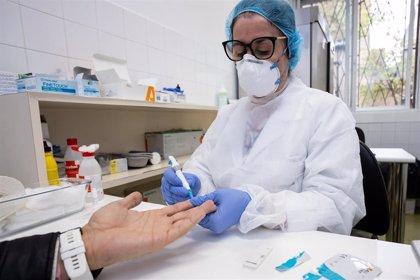 Aragón notifica 318 contagios y 556 personas están hospitalizadas por la COVID-19