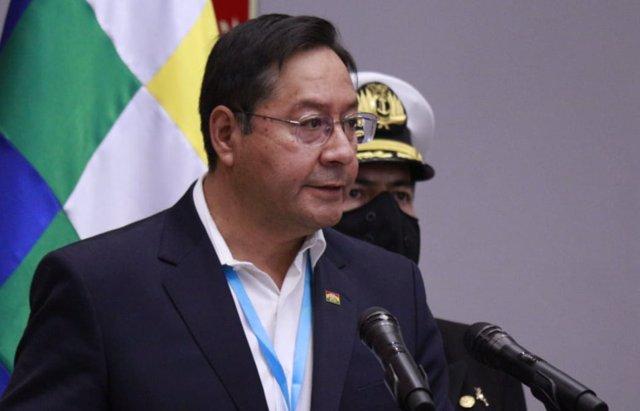 El presidente de Bolivia, Luis Arce