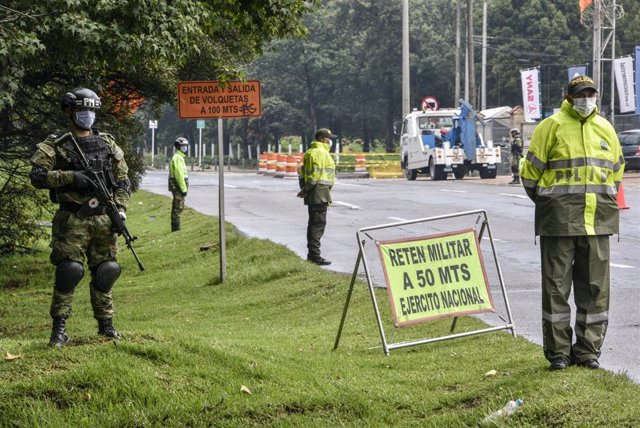 Control del ejército colombiano