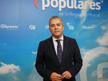 """PP: """"Sánchez ha impedido que lleguen a la Región 69 hm3 de agua del Tajo con los recortes aplicados al Trasvase"""""""