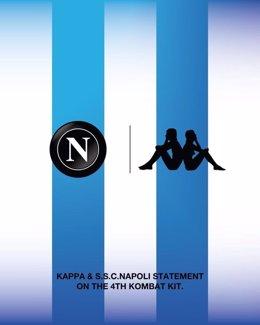 Camiseta especial del Nápoles de homenaje a Diego Armando Maradona