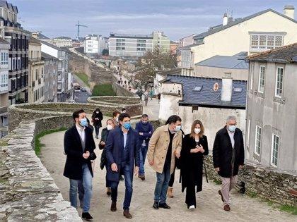 La Xunta anuncia un plan director para la conservación de la Muralla de Lugo, que cumple 20 años como Patrimonio Mundial