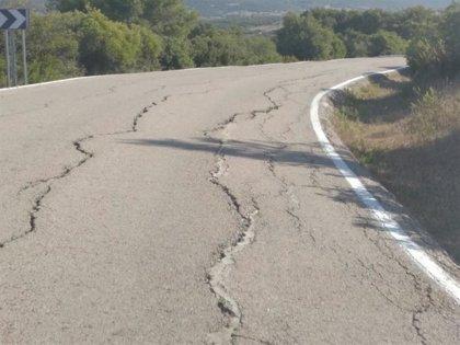 La Junta invierte 2,4 millones en la reparación del firme de la carretera de El Castaño, en Cádiz