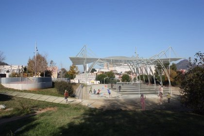 Barcelona inicia las obras de la pista deportiva del Campillo de la Virgen en Nou Barris