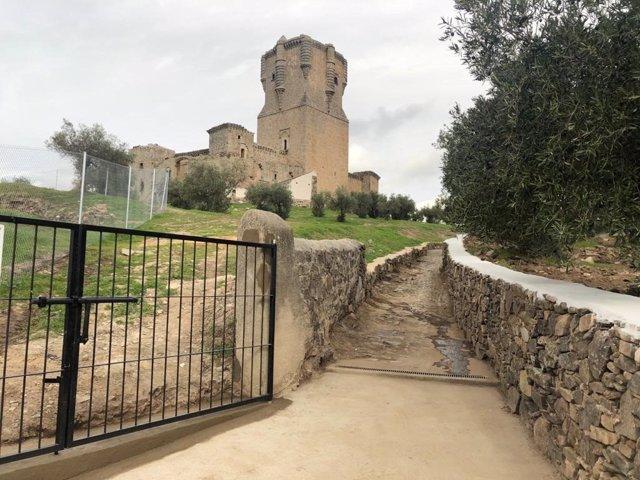 Mejoras en el castillo de Belalcázar