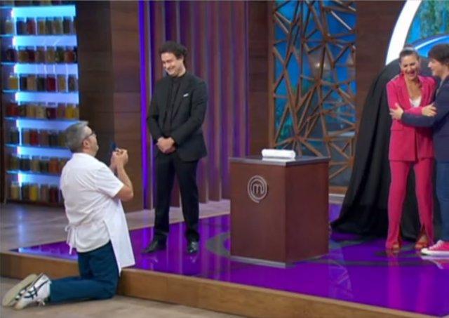 El actor y cómico Florentino Fernández, 'Flo', en el programa 'MasterChef: Celebrity'