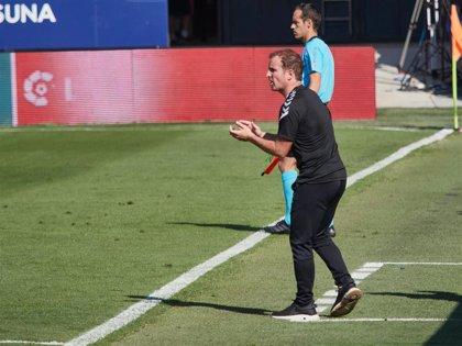 """Arrasate: """"Es imposible sacar un buen resultado contra el Barça cuando das este nivel"""""""