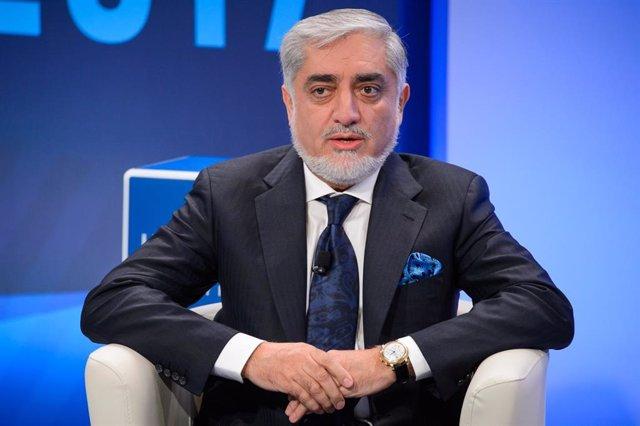 Abdulá Abdulá, primer ministro de Afganistán