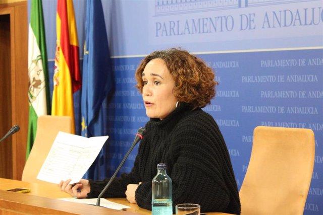 La parlamentario de Adelante Andalucía Ana Naranjo