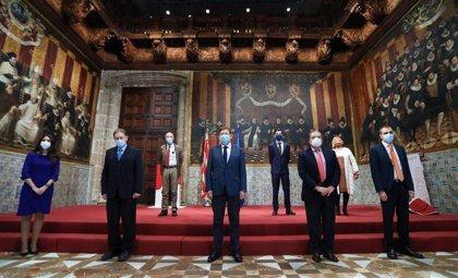 """Puig muestra el """"agradecimiento y reconocimiento del pueblo valenciano"""" a los premiados con los Rei Jaume I 2020"""