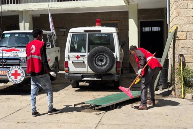 Operaciones del Comité Internacional de la Cruz Roja en Etiopía