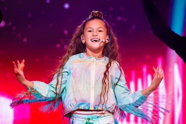 Soleá, la representant espanyola d'Eurovisión Junior 2020.