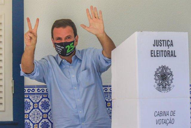 El alcalde de Río de Janeiro, Eduardo Paes.