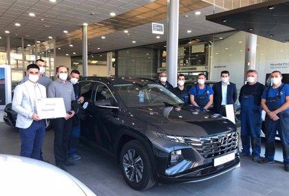 "Hyundai otorga su máximo galardón de ""excelencia"" a un concesionario de Segovia"