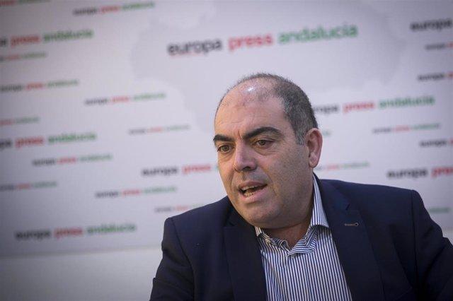 El presidente de ATA, Lorenzo Amor, durante su entrevista con Europa Press.