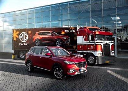 MG lanzará en diciembre en Europa el nuevo EHS híbrido enchufable