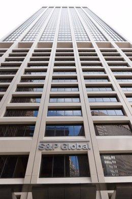 Oficinas centrales de la agencia S&P Global.