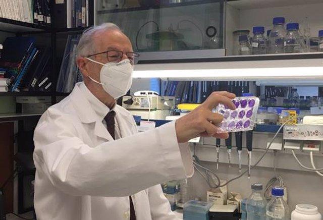 El investigador del CSIC Luis Enjuanes