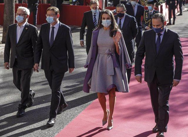 La Reina Letizia en los Premios Jaume I en València