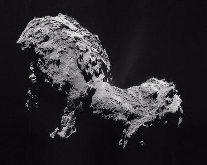 El fósforo completa los  ingredientes de la vida en el cometa 67P