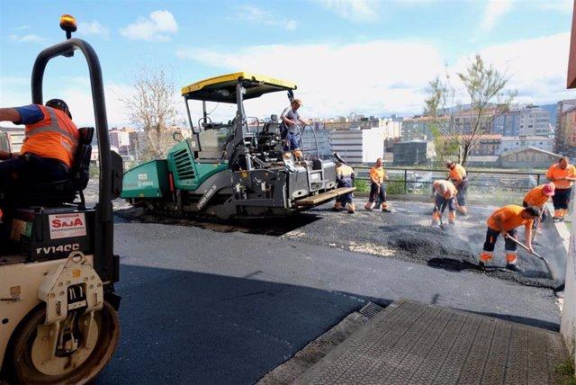 Santander destinará 1,3 millones a la pavimentación de casi una veintena de calles