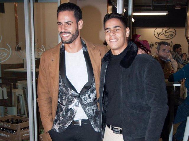 Asraf y Anuar Beno, en una imagen de archivo