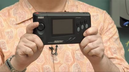 Sega muestra por primera vez el prototipo de Nomad, su consola híbrida lanzada en 1995 solo en Norteamérica